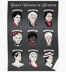 Great Women of Science {Set} Poster