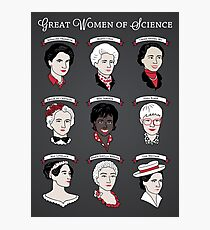 Great Women of Science {Set} Fotodruck