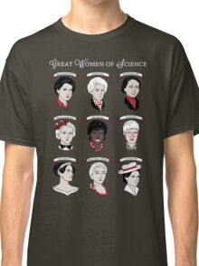 Great Women of Science {Set} Classic T-Shirt
