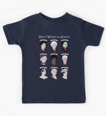 Great Women of Science {Set} Kids Tee