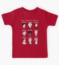 Great Women of Science {Set} Kids Tee