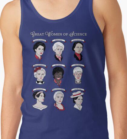 Great Women of Science {Set} Tank Top