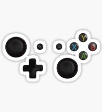 Gaming Buttons Sticker