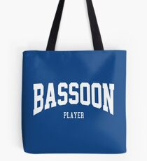 Bassoon Player Tote Bag