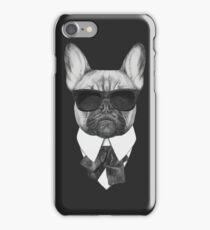 French Bulldog In Black iPhone Case/Skin
