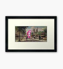 The Tourist Framed Print