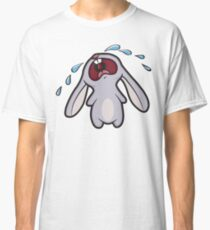 Sad Crying Bunny Rabbit Classic T-Shirt