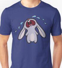 Sad Crying Bunny Rabbit Unisex T-Shirt