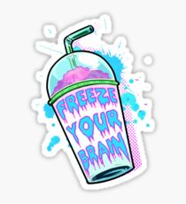 Freeze Your Brain Sticker