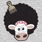 Afro Cow by Lisa Marie Robinson