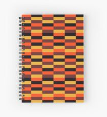 District Line Moquette Spiral Notebook