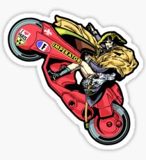 EMPEROR WHEELIE Sticker