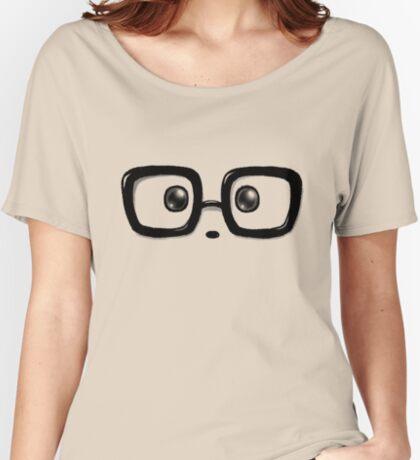 Geek Chic Panda Eyes Relaxed Fit T-Shirt