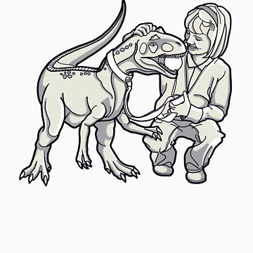 Jessie's Pet T-Rex by rubyred