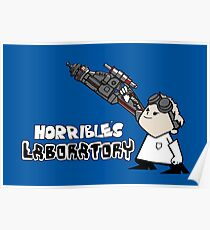 Horrible's Laboratory Poster