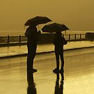 .. in a rainy late summer afternoon .. close to the sea shore (3) by Rachel Veser