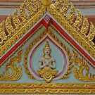 The Golden Buddha Temple of Surin, Thailand by Remo Kurka