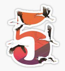 5Birds Sticker