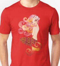 Coraleen, Mermaid in Pink Unisex T-Shirt