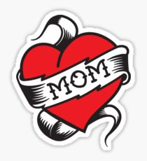 Mom Tattoo Sticker