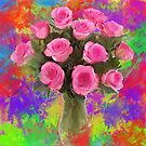 water color flowers by John Ryan