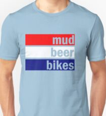 Cyclocross (red, white and blue) Unisex T-Shirt