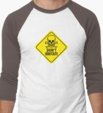 Don't irritate! Men's Baseball ¾ T-Shirt
