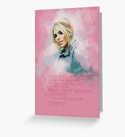 Rose Tyler Greeting Card