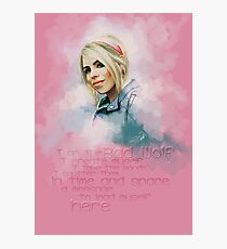 Rose Tyler Photographic Print