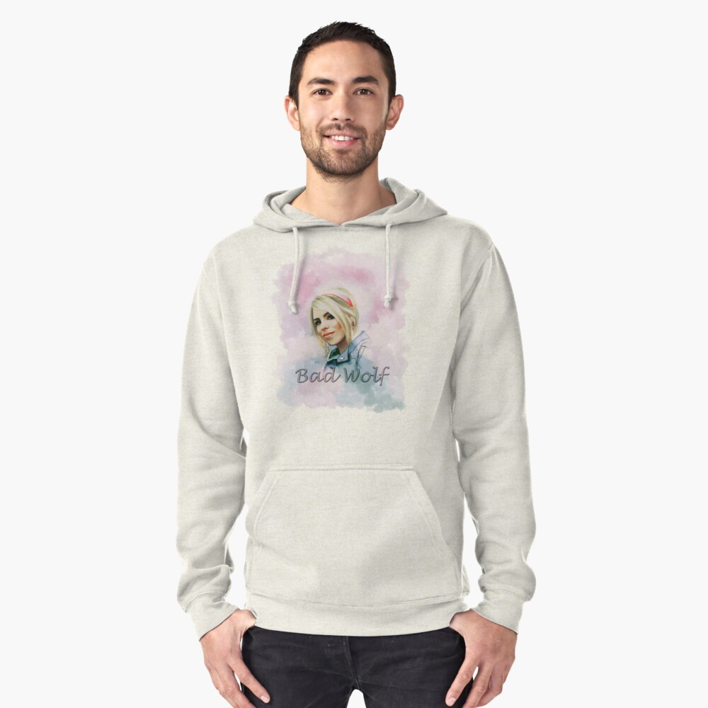 Rose Tyler Pullover Hoodie Front