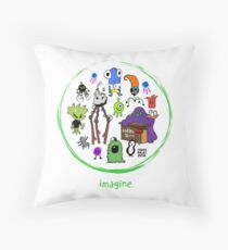 IMAGINE COLLECTION by Chase Balay Throw Pillow
