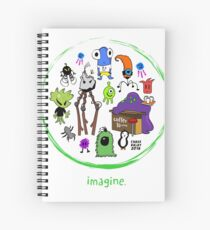 IMAGINE COLLECTION by Chase Balay Spiral Notebook