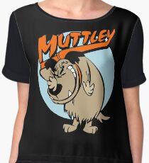 Muttley Laughing Chiffon Top