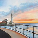 St. Mary's lighthouse by Judith Selcuk