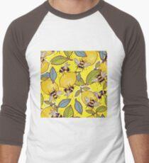 Yellow lemon and bee garden. T-Shirt