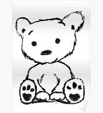 Bear Sketch Poster