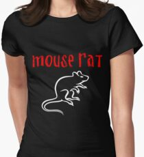 Mouse Rat Fan art Womens Fitted T-Shirt