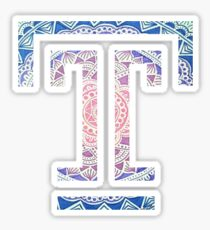 Temple T Sticker