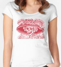 Calavera Catrina | Day of the Dead | Dia de los Muertos Women's Fitted Scoop T-Shirt