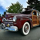 1947 Ford Deluxe Custom Woodie by mal-photography