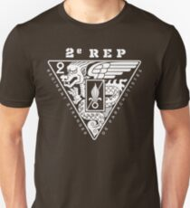 2e REP - 2 REP - Foreign Legion Paratroopers T-Shirt
