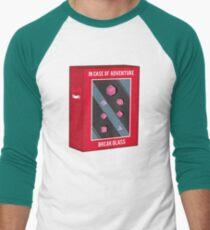 In Case of Adventure Break Glass - Pink Dice T-Shirt
