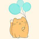 gil, the cat by kimvervuurt