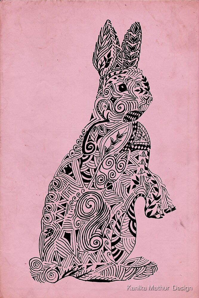 Rabbit_Pink by Kanika Mathur  Design