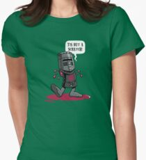 A Vintage Flesh Wound Women's Fitted T-Shirt