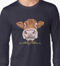 Süße Kuh Langarmshirt