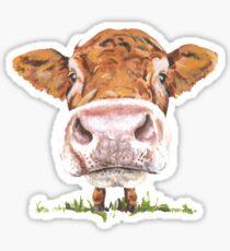 Pegatina Linda vaca