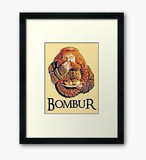 Bombur Portrait Framed Print