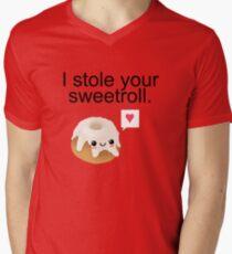 I stole your sweetroll. Mens V-Neck T-Shirt
