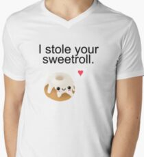 I stole your sweetroll. Mens V-Neck T-Shirt